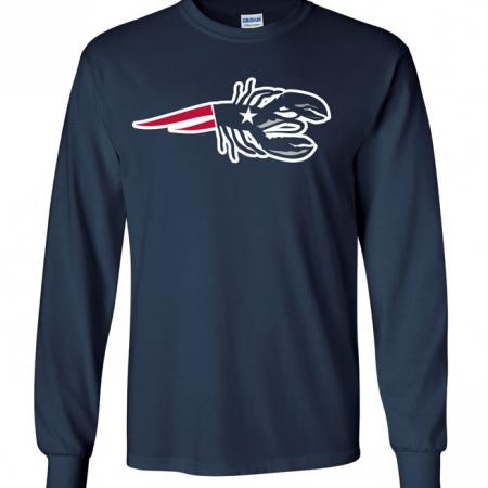 Patriot Lobster Long Sleeve T-shirt