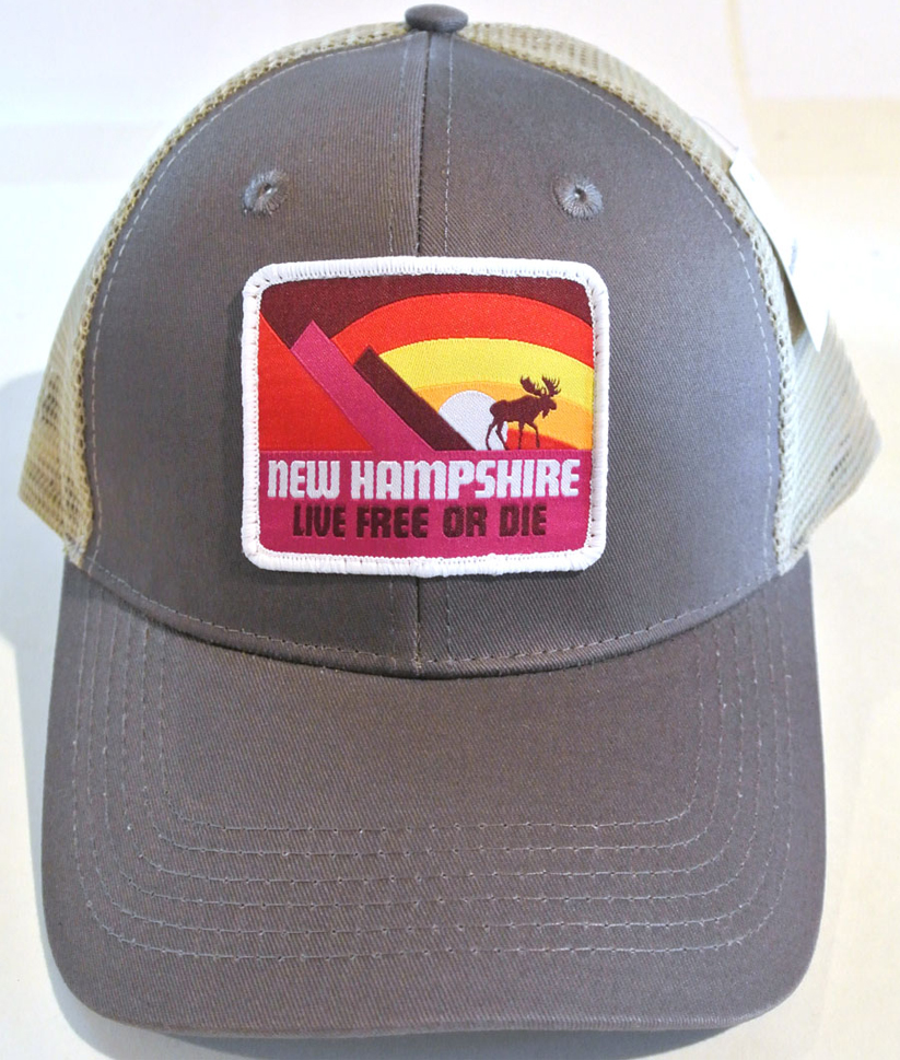 8d7c80bc12654 Moose   Mountains Trucker Hat – New Hampshire